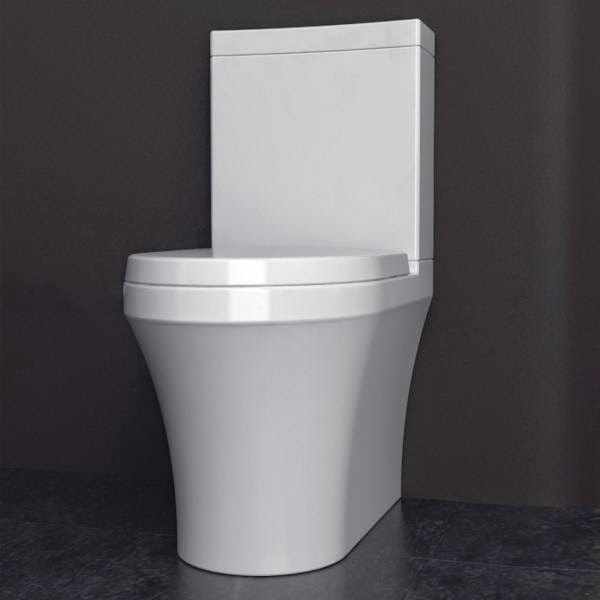 New product q wall hung pan candana for Studio bagno q series wall faced pan