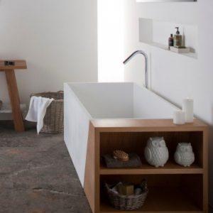 Latis Bath w/ Timber End
