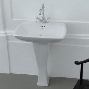 Jazz 600 Pedestal Basin