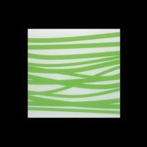 White/Green Cutting Board