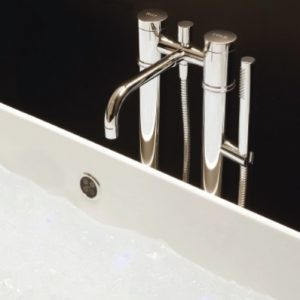 Savoy Floor Bath Set 220mm