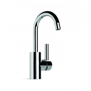 City Plus 'D' Lever Basin Mixer With 130mm Swivel Spout
