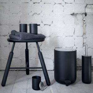 Norm Bathroom Set- Black