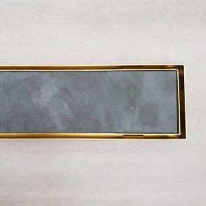 Tile Insert Grate- Brass