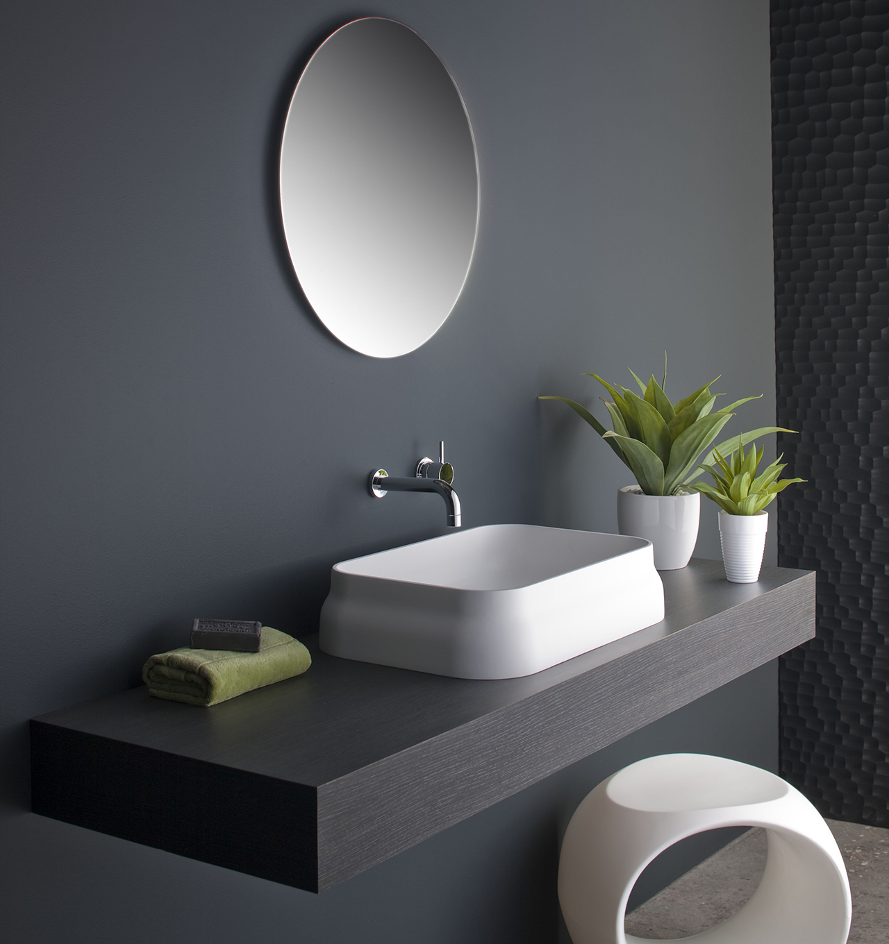 Candana Latis Rectangular Basin