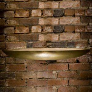 Bronze Large Oval Dish