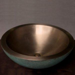 Bronze Round Vessel
