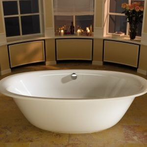 Ellipso Duo Oval Freestanding 1900 x 1000