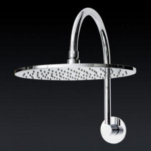 Fontana Round Gooseneck Shower