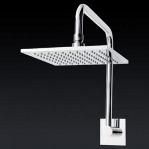 Fontana Square Gooseneck Shower