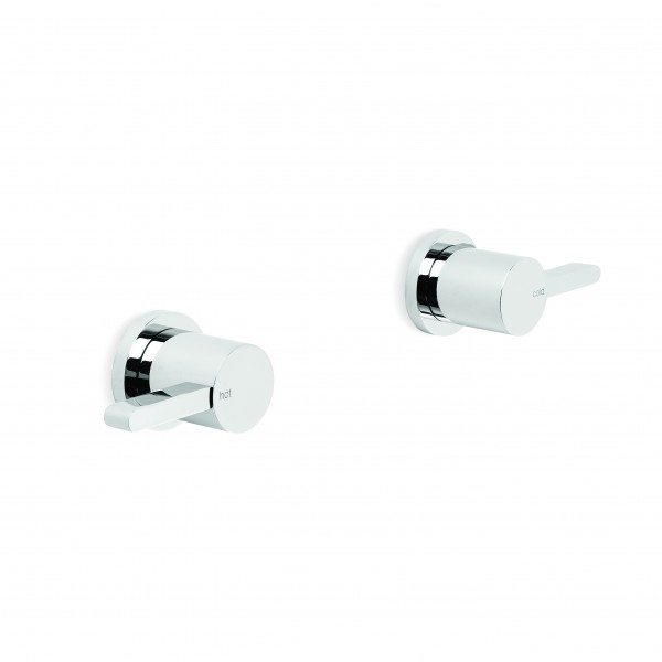 City Que Lever Wall Taps (Pair)