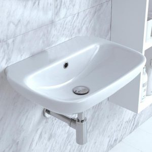 Clear 55 Wall Basin