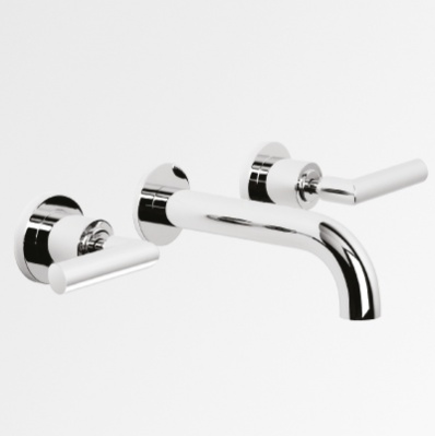 City Lever 150mm Wall Set