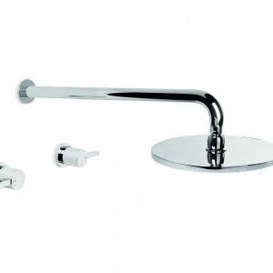 City Que Lever 200mm Shower Set
