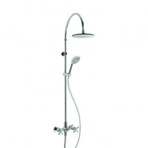City Que Exposed Slider Shower Set