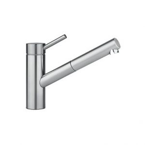 Inox Sink Mixer w/ Spray