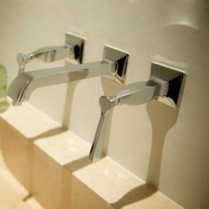 Bellagio Lever Basin/Bath Set