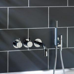 Vola 2411C-071 Bath Mixer