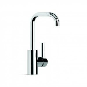 City Plus 'D' Lever Basin Mixer With Square Swivel Spout