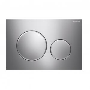 Sigma20 Flush Button- Chrome/Matt Chrome Trim