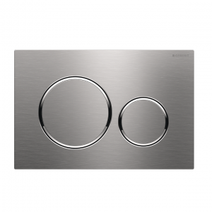Sigma20 Flush Button- Stainless Steel/Chrome Trim