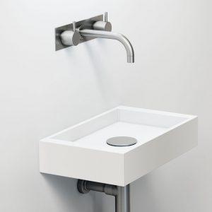 Vola 1513K Basin Set w/ Plate