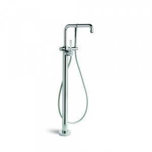 Industrica Floor Bath Mixer + Handshower