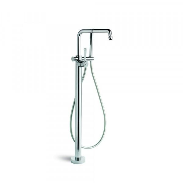 Industrica Floor Bath Mixer + Handshower