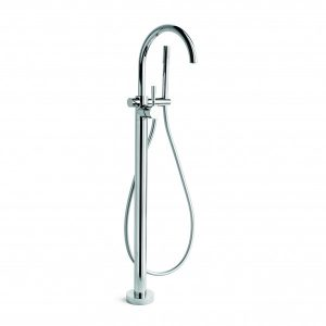 Manhattan Floor Bath Mixer + Handshower