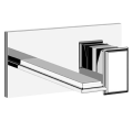 Eleganza Wall Basin Set w/ Mixer