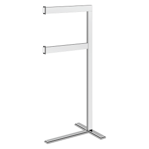 Eleganza Freestanding Towel Rail