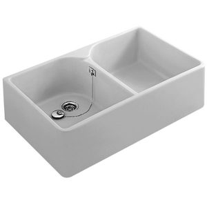 Butler Double Bowl Sink 800