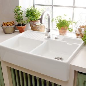 Butler Double Bowl Sink 895