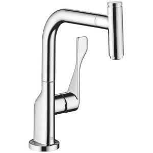 Axor Citterio Pull-Out Kitchen Mixer