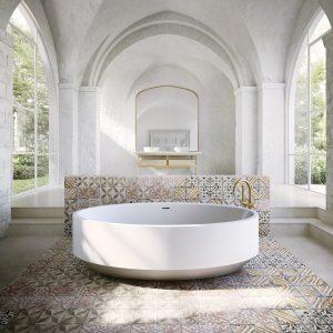 Zen Round Bath 1450