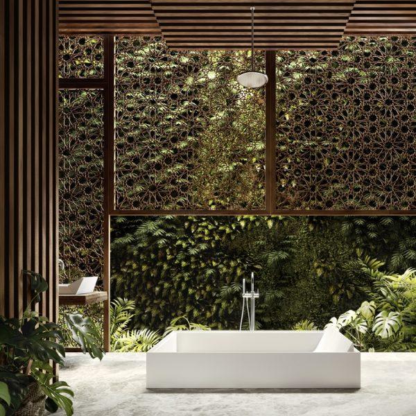 Sampan Shower Bath 900