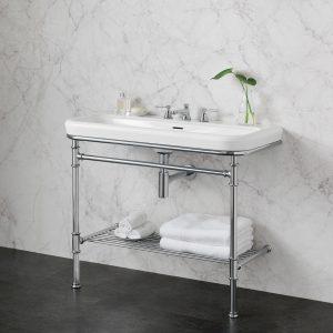 Metallo 100 Washstand Basin