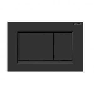 Sigma30 Flush Button- Black/Black Trim