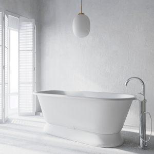Liberty Bath 1700 w/ Plinth